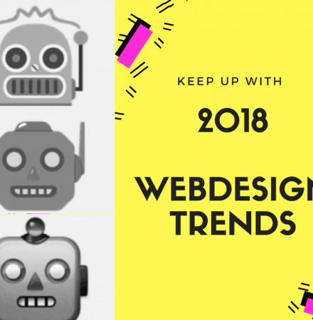 Web design trends for 2018 you should keep up with