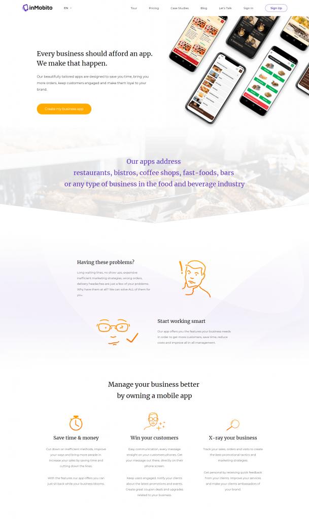 inMobito - app platform Project | 11Digits